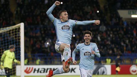 224 - Shaktar-Celta (0-2) de Europa League el 23 de febrero del 2017