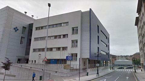 El centro de salud de La Ería, en Oviedo