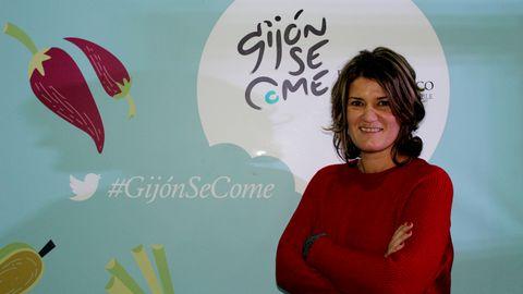 Ana Rellán, directora de GijónSeCome