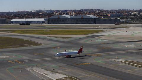 Un avión de Iberia Express