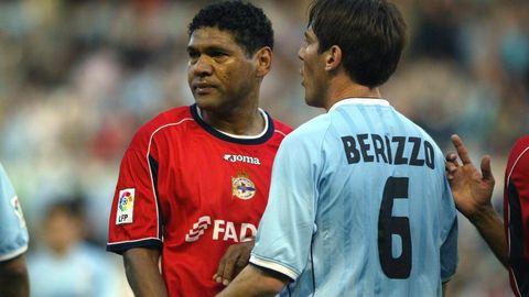 Donato y Berizzo, en mayo del 2003