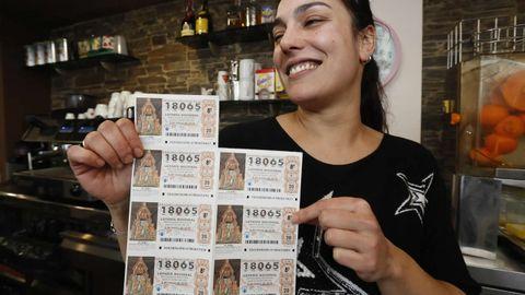 Imagen del bar Dolar, en Lugo, donde se repartieron 200 décimos del quinto premio que cayó en parte en Lourenzá.