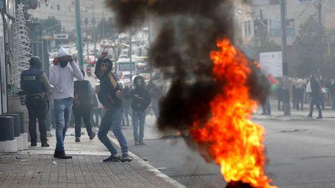 Continúan las manifestaciones contra la decisión de Trump de reconocer Jerusalén como capital de Israel