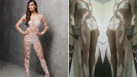 El vestido de este año y el diseñado por Joshua Velázquez