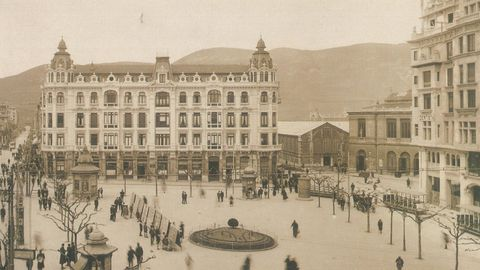 La plaza de la Escandalera