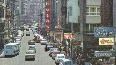La calle Pelayo en los años 70