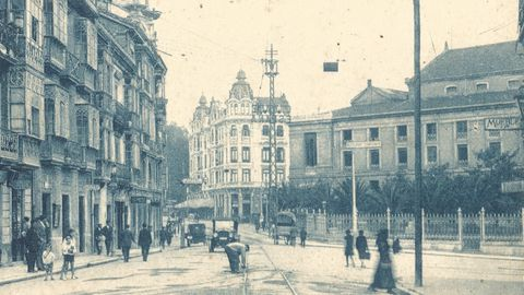 La calle Arguelles en 1928