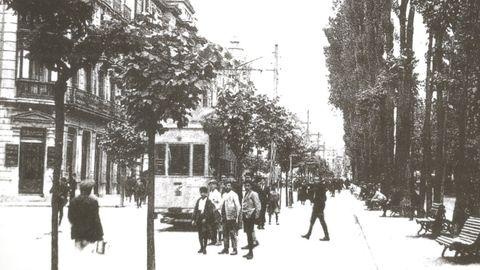 El tranvía a comienzos del siglo XX