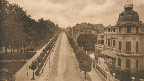 La avenida de Toreno