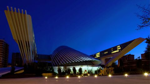 Palacio de Congresos de Oviedo, obra de Santiago Calatrava