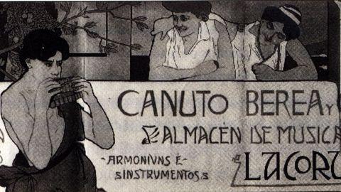 A CORUÑA CANUTO BEREA, PARTITURAS 19991226
