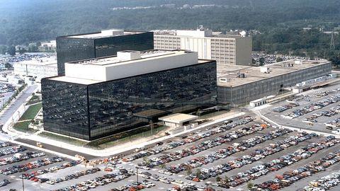Imagen de archivo de la sede de la NSA en Maryland