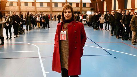 La secretaria de Organización de la FSA, Gimena Llamedo