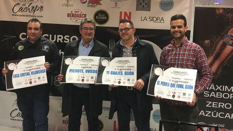Los cuatro finalistas de la fase regional que irán a la final del Mejor Cachopo de España 2018