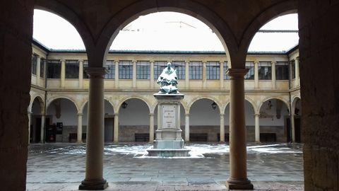 La nieve en la Universidad de Oviedo