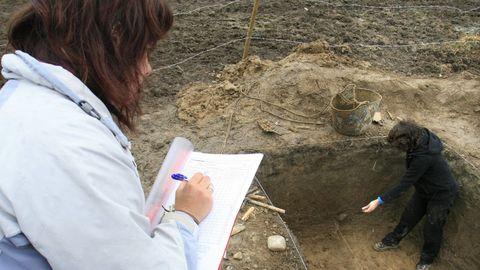 Un sondeo arqueológico realizado en el 2008 en la aldea de Pedras, donde se encontraron artefactos del Paleolítico