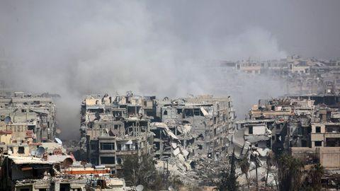 Bombardeos en Guta (Siria)