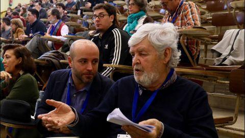 Beiras y Villares en el ultimo plenario de En Marea