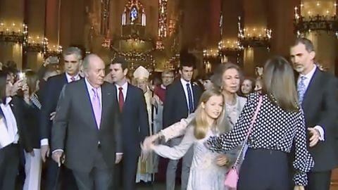 Así fue el rifirrafeentre las reinas Letizia y doña Sofía