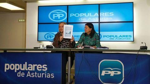 Mercedes Fernández y Susana López Ares