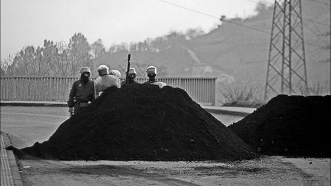 Movilizaciones Mineras. Langreo. Asturias (1998)