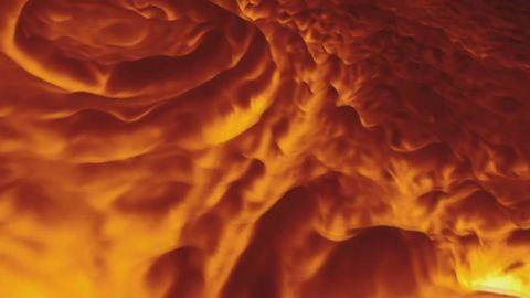 Así es el Polo Norte de Júpiter: el espectacular vídeo de la NASA