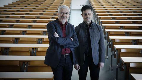 Javier Cudeiro y Marcelo Castelo