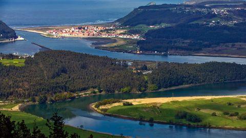 Desembocadura del río Nalón