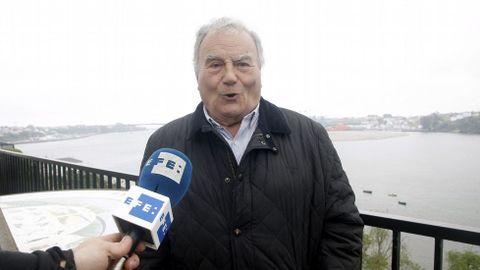 Antonio Díaz-Canel, primo segundo del nuevo presidente de Cuba, Miguel Diaz-Canel, hace declaraciones en Castropol