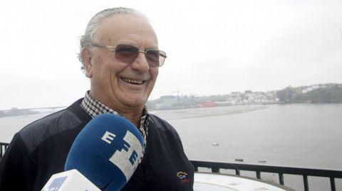 Ramón Diáz-Canel, primo segundo del nuevo presidente de Cuba, Miguel Diaz-Canel, hace declaraciones en Castropol