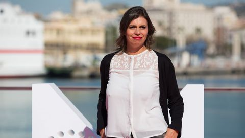 La productora Agustina Chiarino de la película «Benzinho»