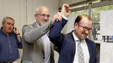 Victoria aplastante de Antonio López en las elecciones a rector de la USC