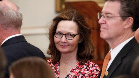 Gina Haspel, en una imagen del 2 de mayo