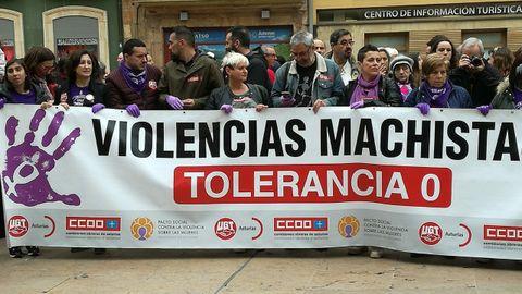 Manifestación feminista 16M en Oviedo