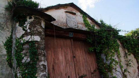 La casa de los Arechaga se encuentra en estado ruinoso