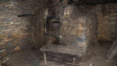 Antiguo horno en la casa de los Arechaga