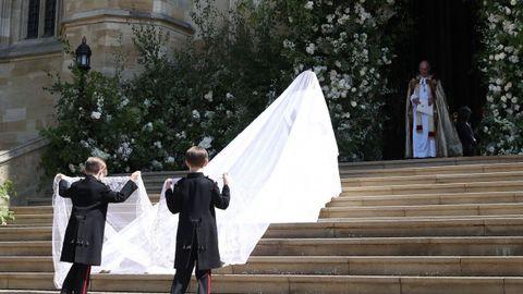 Así es el elegante vestido de Givenchy que Meghan Markle eligió para su boda con Harry