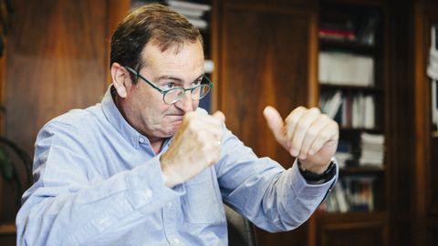 El gerente del Sespa, José Ramón Riera