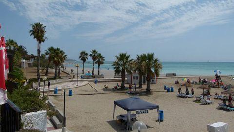 Foto de la playa de Benicasim