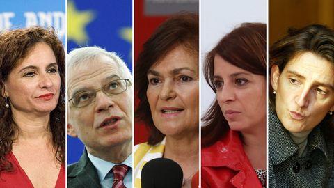 Estos son los ministros del Gobierno de Pedro Sánchez