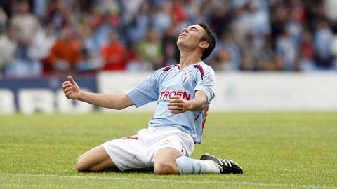 Aunque marcó dos goles, Iago también tuvo tiempo ese día de lamentar alguna ocasión fallada