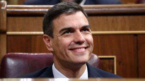 El presidente del Gobierno: Pedro Sánchez