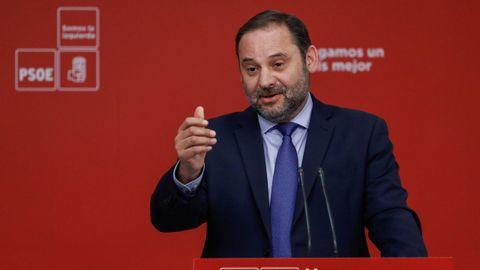 Ministerio de Fomento: José Luis Ábalos