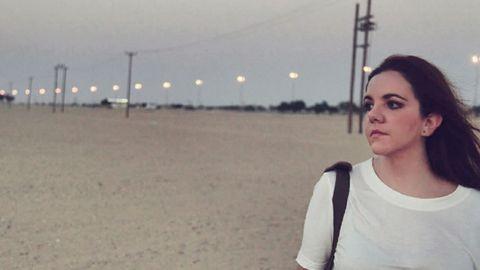Verónica Ouro se fue hace dos años a Kuwait para trabajar de diseñadora para una marca de moda infantil