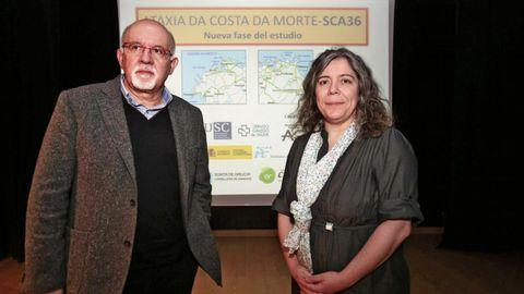 Manuel Arias y María Jesús Sobrido