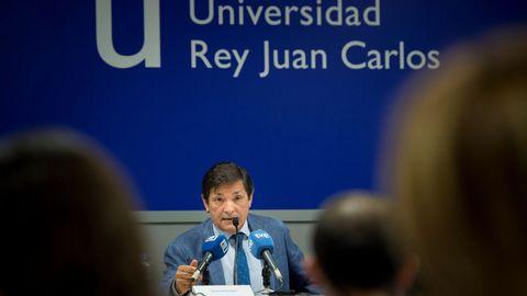 El presidente del Principado, Javier Fernández, pronuncia la conferencia  Modelo territorial del siglo XXI  en el marco del curso de verano de la Universidad Rey Juan Carlos de Madrid  Constitución, modelo territorial y financiación autonómica .