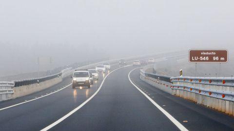 El actual trazado complica sustancialmente los adelantamientos en esta carretera