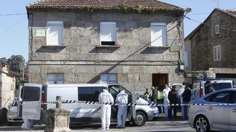 La policía registró una vivienda en busca de pruebas