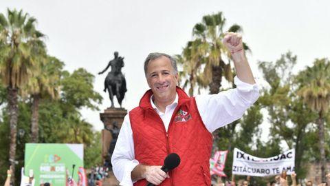 El candidato oficialista a la Presidencia de México, José Antonio Meade