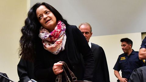 Beata Zschäpe se dispone a escuchar la sentencia